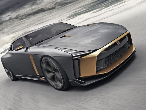 Nissan GT-R50 by Italdesign Concept - 2018
