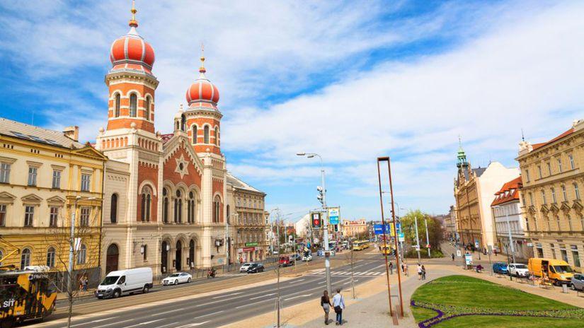 Plzeň, synagóga