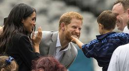 Princ Harry je zjavne nadšeným fanúšikom detí. Žeby čoskoro mal aj vlastné?