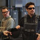 Zľava Josh Brolin, Jeffrey Donovan a Benicio Del Toro vo filme Sicario 2: Soldado.