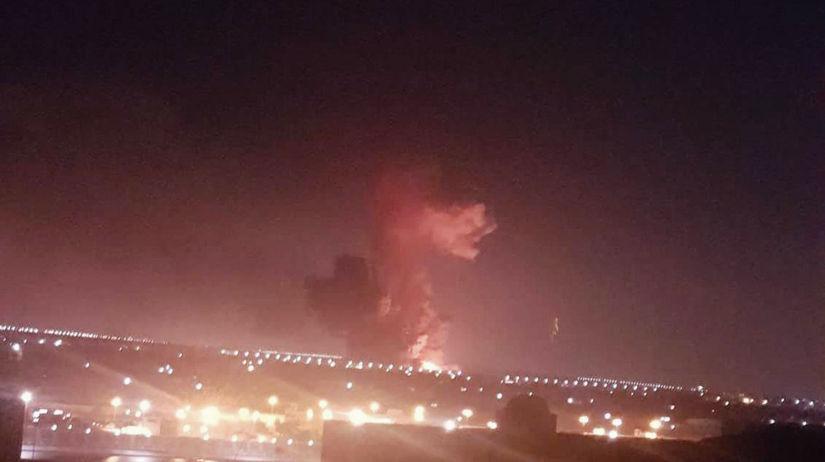 Egypt, výbuch
