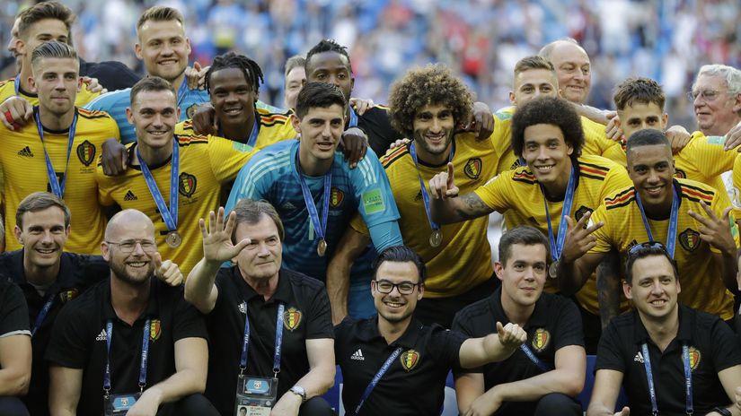 futbal Belgicko
