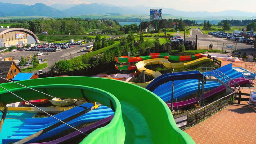 Liptov, akvapark, tobogany, aquapark, Tatralandia