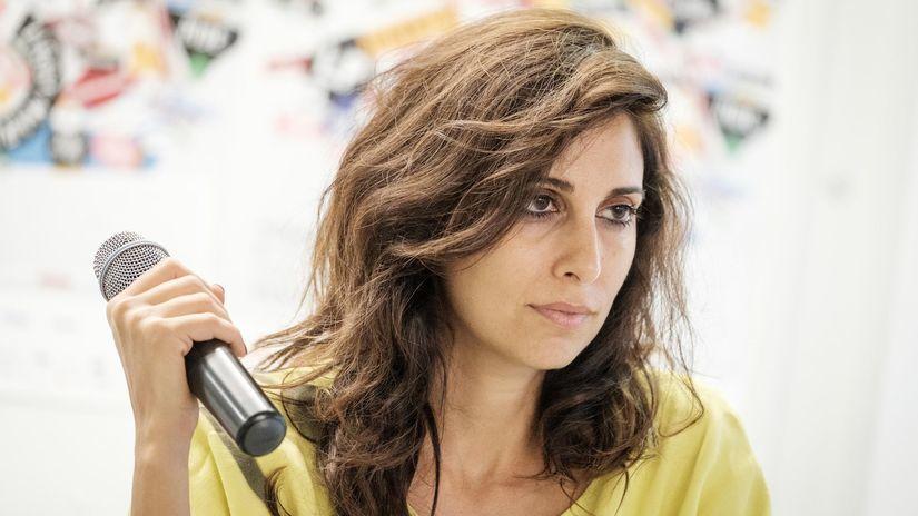 Libanonská speváčka Yasmine Hamdan.