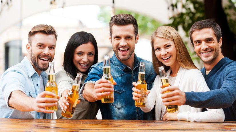 pivo, ludia, flasa,