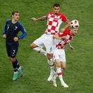 Taká penalta vás zabije, smútil Modrič. Lovren: Francúzi nehrali futbal