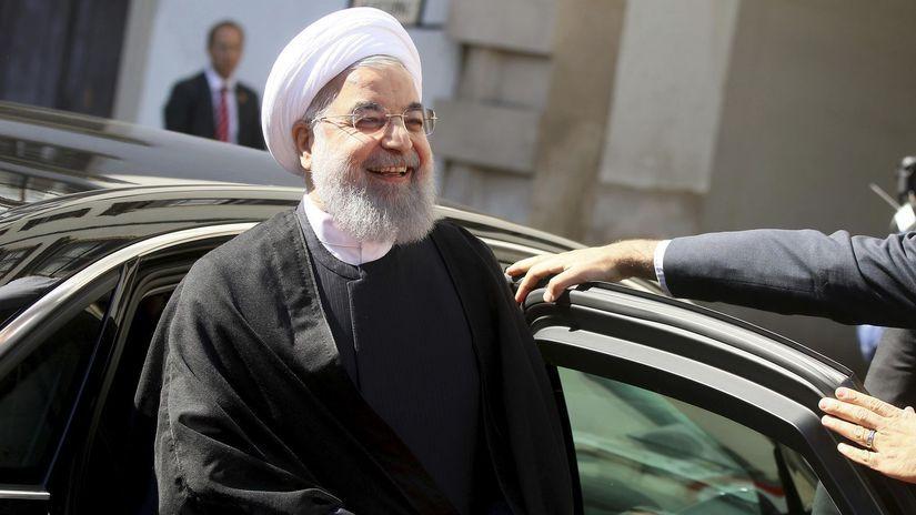 iránsky prezident Hassan Rouhani
