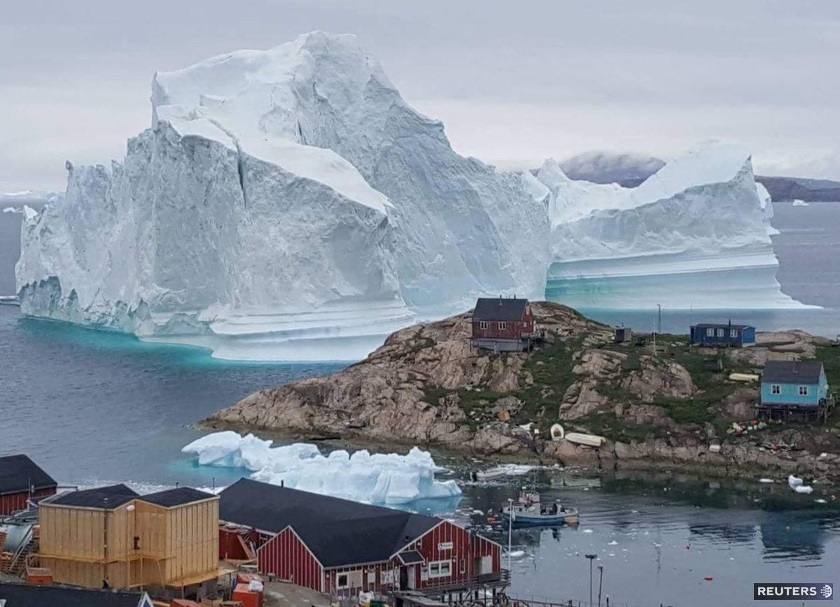 ľadovec, Grónsko