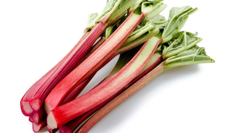 rebarbora, zelenina