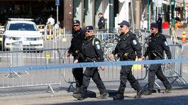 polícia, fínsko, helsinki, summit