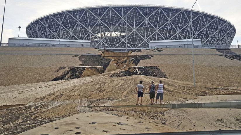 Volgograd, štadión