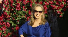 Herečka Meryl Streep na premiére filmu Mamma Mia! Here We Go Again.