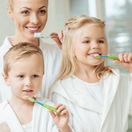 rodina, zuby, hygiena,