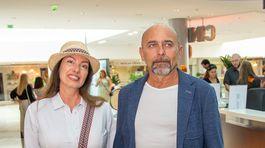 Katarína Hasprová sa prišla na film pozrieť aj so svojím partnerom Ivanom Vojtekom ml