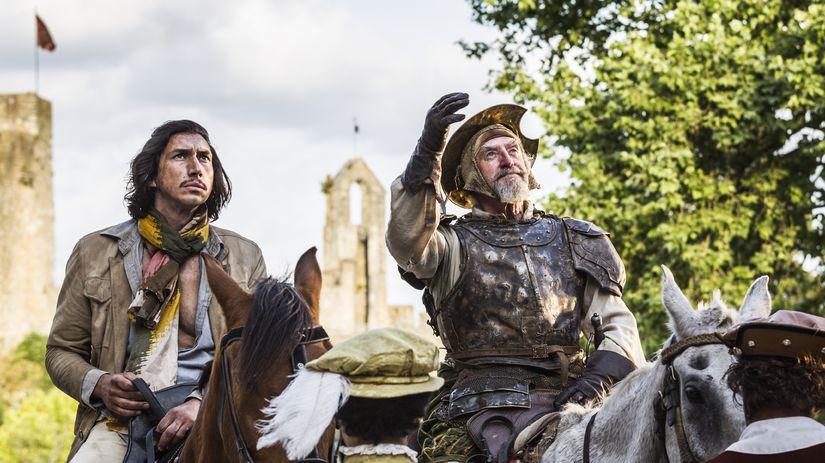 Adam Driver ako Toby (vľavo) a Jonathan Pryce