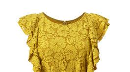 Dámske šaty so syntetickou čipkou, Violeta by Mango.
