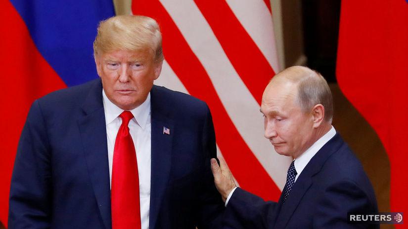 Donald Trump, Vladimir Putin, summit USA- Rusko