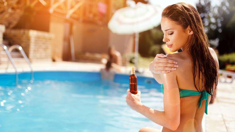 leto, dovolenka, bazén, cestovanie, opaľovanie,...