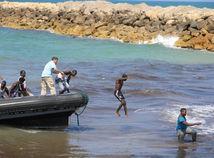 Líbya, migranti