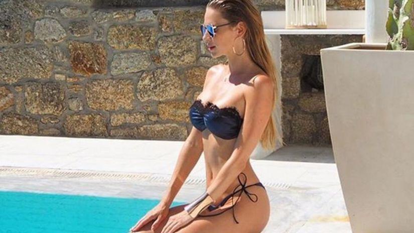 Modelka Andrea Verešová.