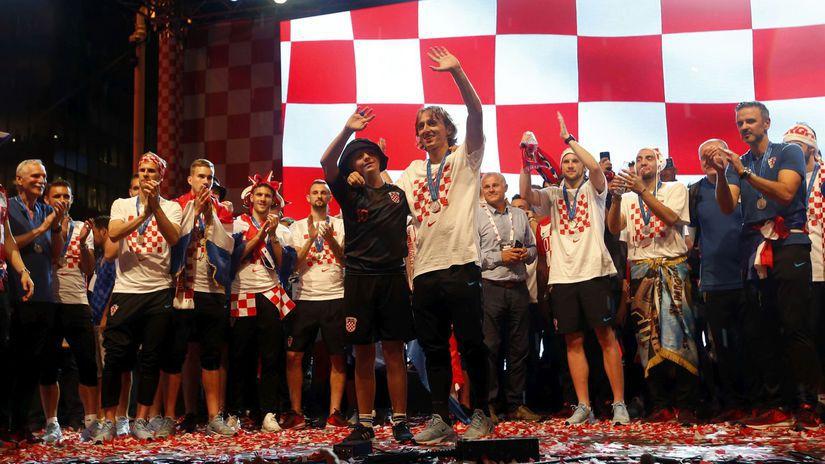 chorvátsko futbal