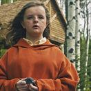 Herečka Milly Shapiro v horore Prekliate dedičstvo.