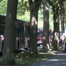 Nemecko Lübeck autobus nôž útok