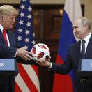 Fínsko Rusko USA summit Putin Trump