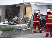 SR HaZZ Bebravská stredisko výbuch zásah BAX