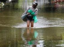 Vietnam, Ázia, tropická búrka, záplavy