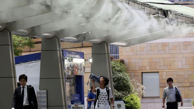 japonsko, tokio, horúčavy