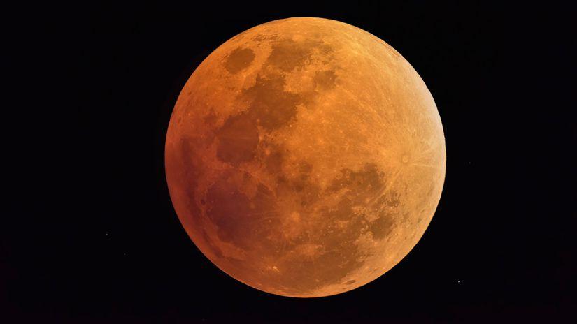 mesiac, zatmenie, zatmenie mesiaca