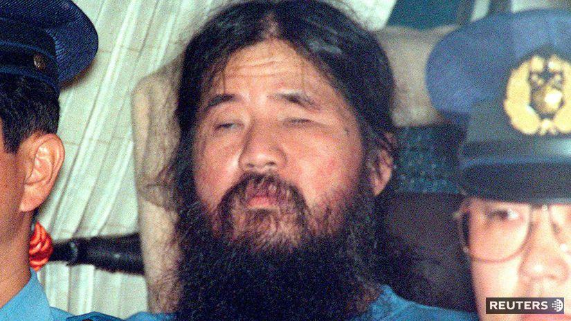 Šokó Asahara, Japonsko, sarín, terorizmus