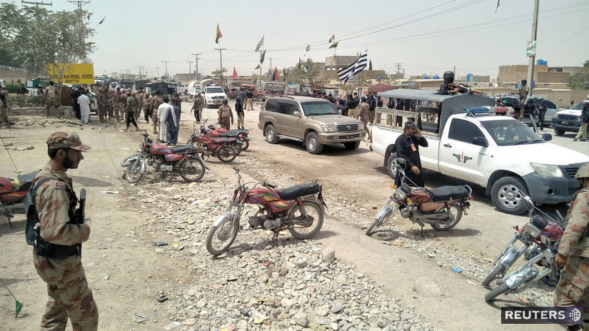 PAKISTAN, kvéta, voľby, výbuch