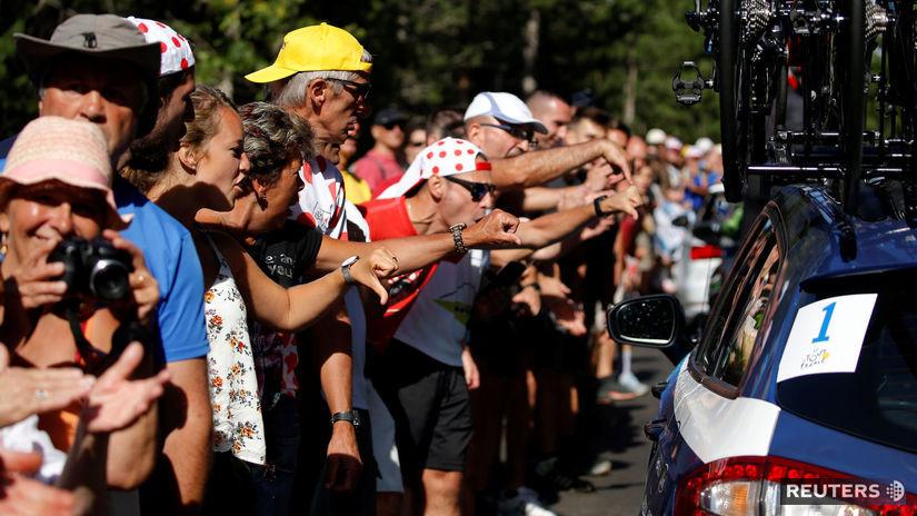 Tour de France, Sky, fanúšikovia
