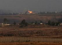 výbuch, sýria, izrael