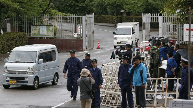 Japonsko sekta útok Tokio