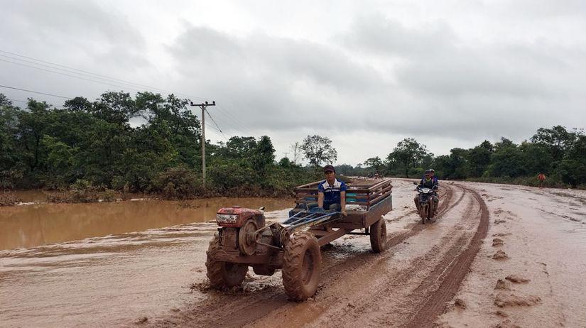Laos hrádza