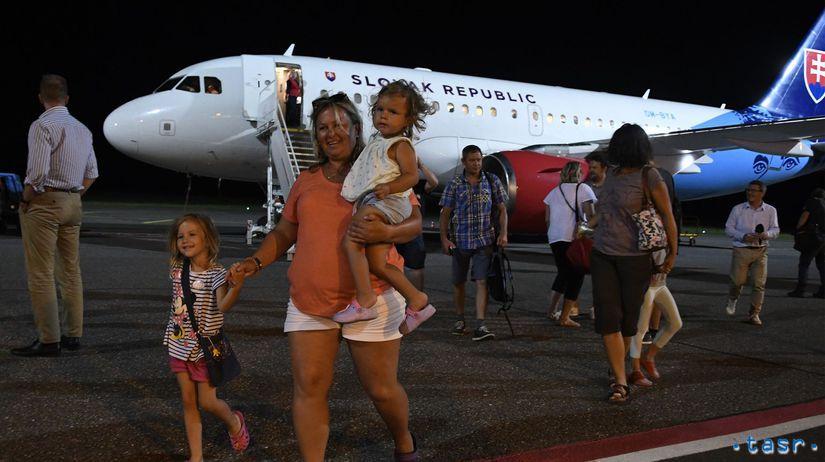 SR MV dovolenkári Albánsko CK úpadok lietadlá POX