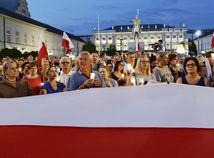 poľsko, protest, súdy