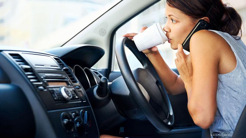 vodič, auto, šoférovanie, nehodovosť, mobil za...