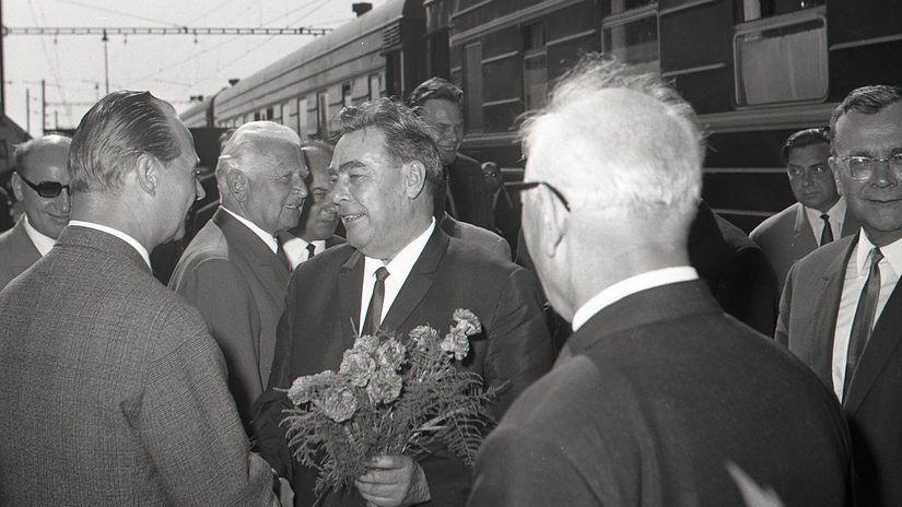 Leonid Brežnev, Alexander Dubček, Čierna nad Tisou