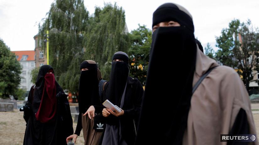 Dánsko, islam, nikáb