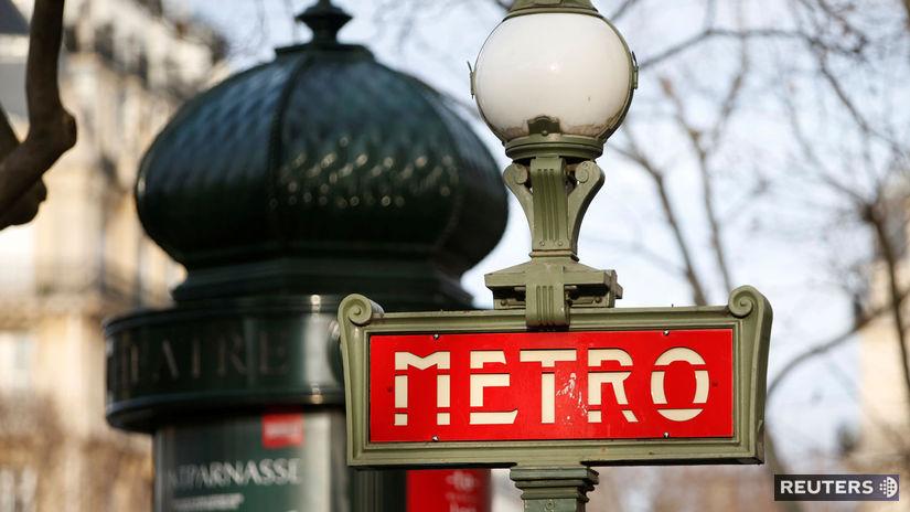 francúzsko, paríž, metro