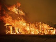 kalifornia, požiar, dom