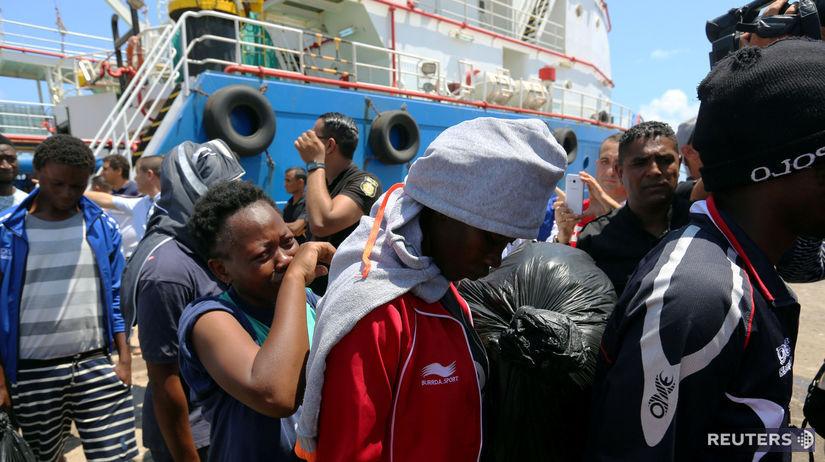 tunisko, zarzis, migranti