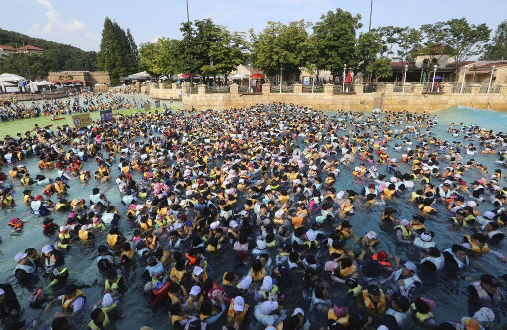 Južná Kórea, kúpalisko