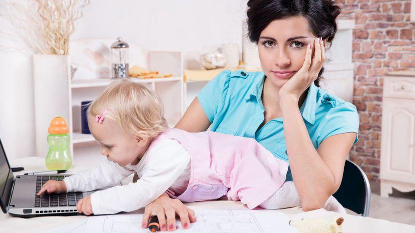 matka, dieťa, práca, kariéra,