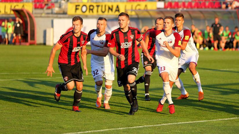 FK Železiarne Podbrezová, Spartak Trnava