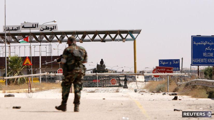 sýria, vojak, cesta, zbraň